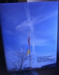 Cross in the Clouds above St. Rose of Lima Church on 12/14/12